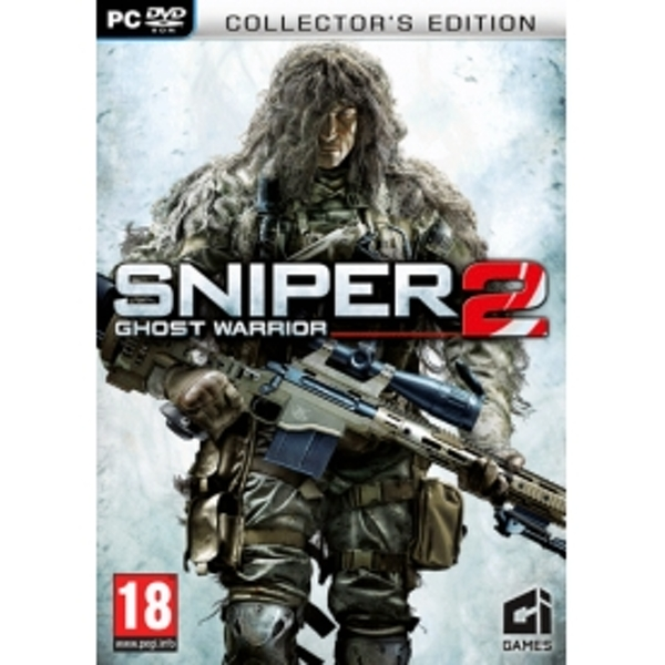 Sniper Ghost Warrior 2 Collector's Edition Game PC