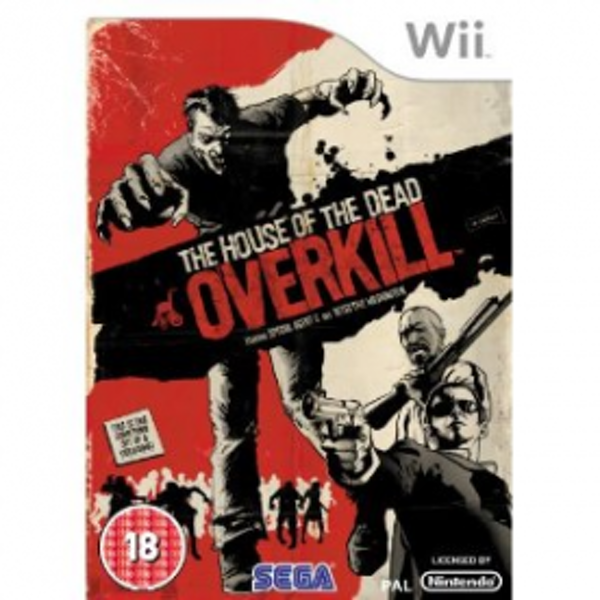 The House Of The Dead Overkill Game Wii