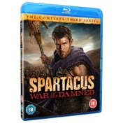 Spartacus War of the Damned Series 3 Blu-ray