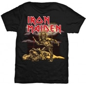 Iron Maiden Slasher Ladies Skinny TS: Large