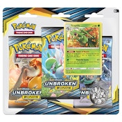 Pokemon TCG: Sun & Moon 10 Unbroken Bonds 3 Pack Blister