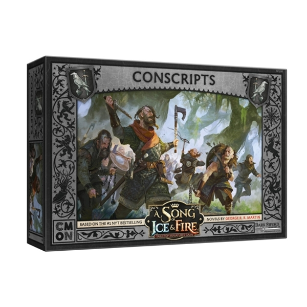 A Song Of Ice and Fire Night's Watch Conscripts Expansion