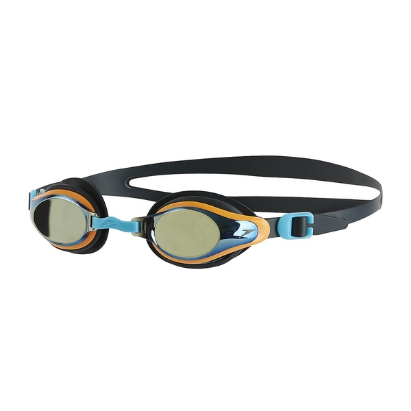 Speedo Mariner Supreme Mirror Goggles Grey/Silver Junior