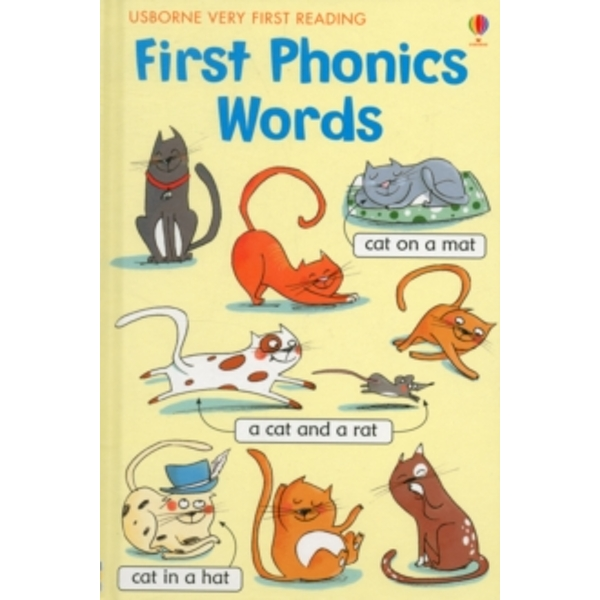VFR First Phonics Words by Usborne Publishing Ltd (Hardback, 2013)