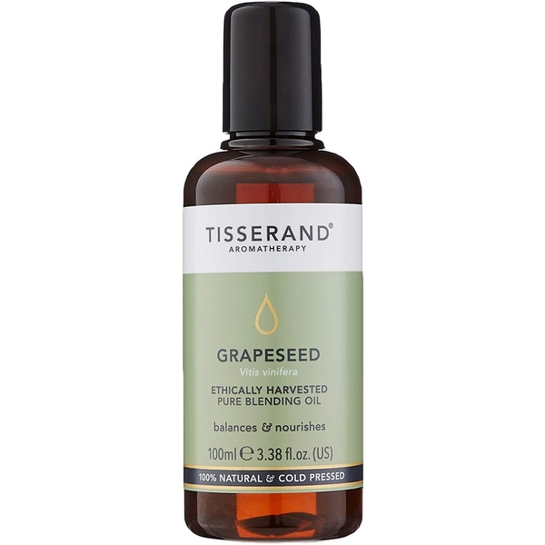 Tisserand Aromatherapy Grapeseed Ethically Harvested Oil 100ml