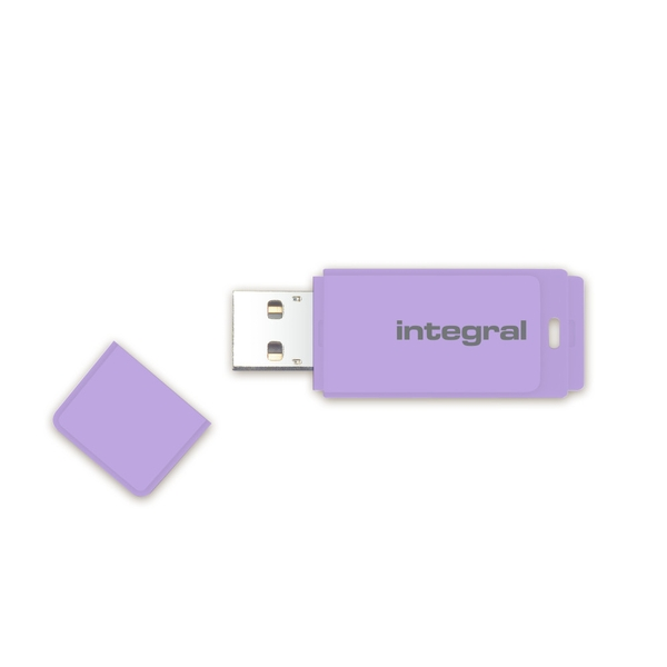 Integral 8GB USB2.0 Memory Flash Drive (Memory Stick) Pastel Lavender Haze