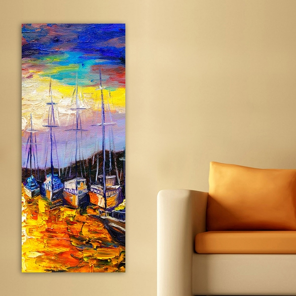DKY241700161_50120 Multicolor Decorative Canvas Painting