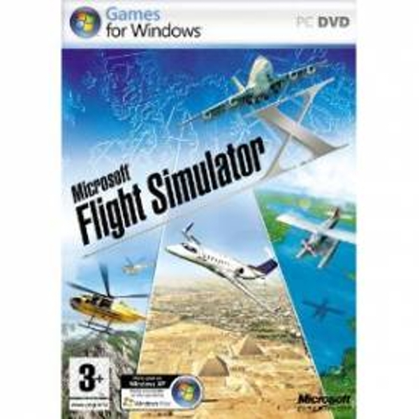 Microsoft Flight Simulator X 2007 Game PC