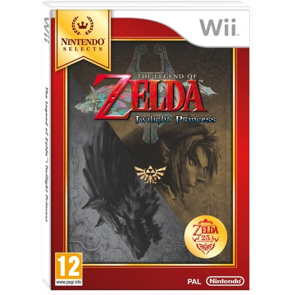 The Legend Of Zelda Twilight Princess (Selects) Game Wii [Damaged]