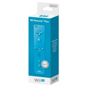 Official Nintendo Wii Remote Plus Control In Blue Wii U