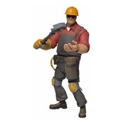 Team Fortress 7 inch Action Figure Series 3 Red Engineer
