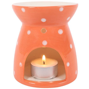 Polka Splodge Orange Oil Burner