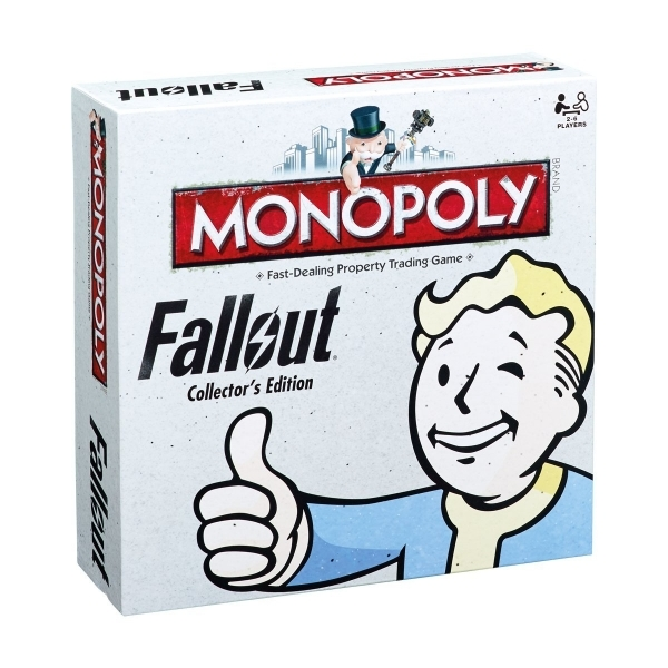 Ex-Display Fallout Monopoly Collector's Edition Board Game Used - Like New
