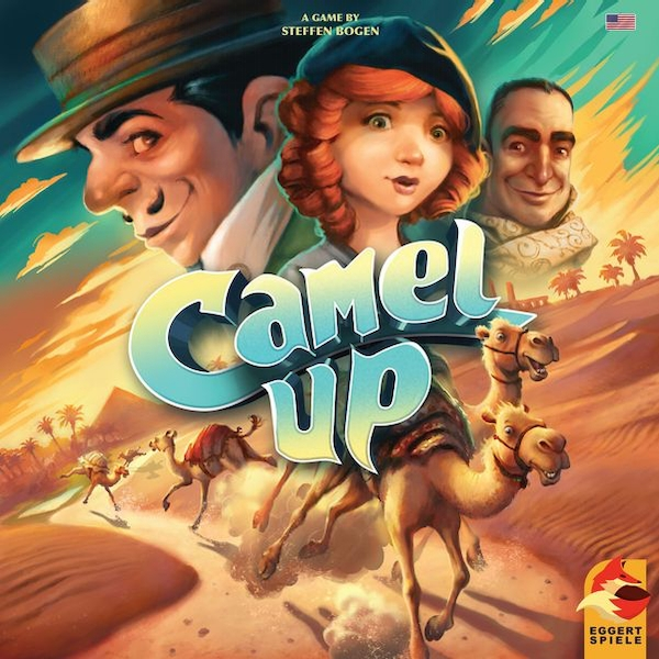 Camel Up 2nd Edition Board Game