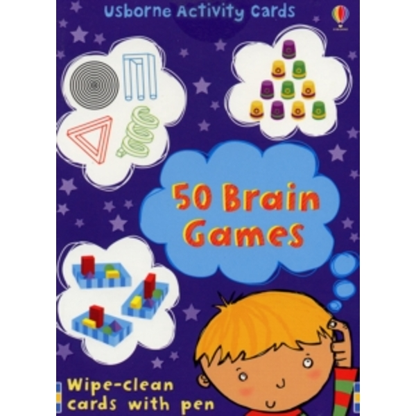50 Brain Games (Usborne Activity Cards) (Activity and Puzzle Cards) Cards