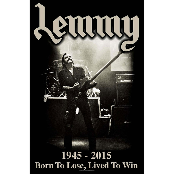 Lemmy - Lived to Win Poster