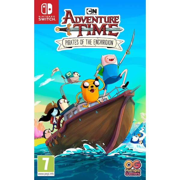 Adventure Time Pirates of the Enchiridion Nintendo Switch Game