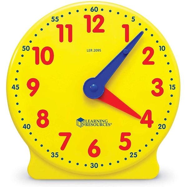 Learning Resources Big Time Student 12 Hour Learning Clock