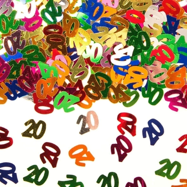 Party Confetti Number 20