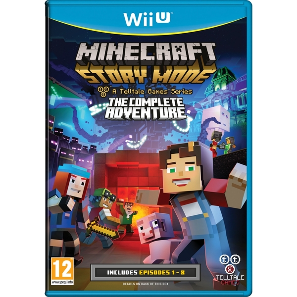 Minecraft Story Mode Complete Adventure Wii U Game