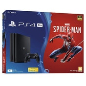 PlayStation 4 Pro (1TB) Black Console with Marvel's Spider-man