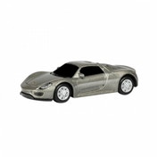 RMZ City Junior Porsche 918 Spyder Silver Die Cast Model