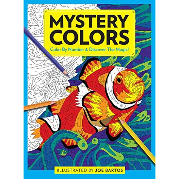 Mystery Colors Color By Number & Discover the Magic! Paperback / softback 2020