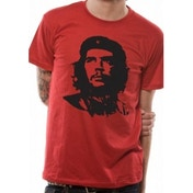 Che Guevara Red Face T-Shirt Large
