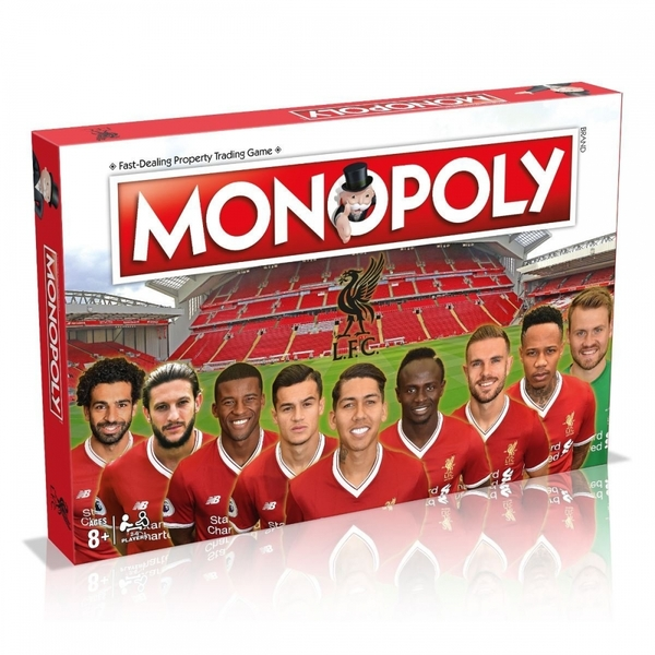 Liverpool F.C. Football Club Monopoly Board Game