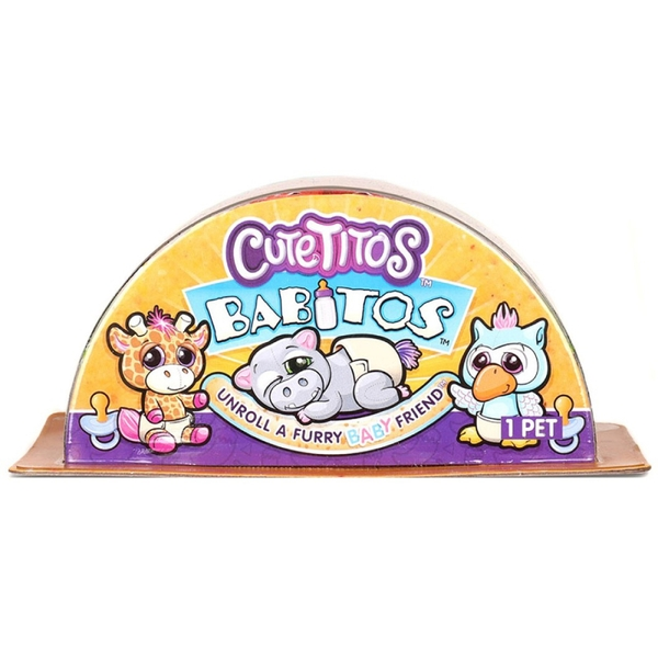 Cutetitos Babitos Collectable Mystery Plush Toy - Assorted