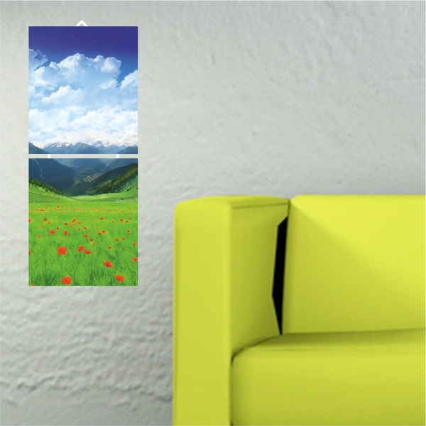 Meadow Decorative MDF Painting (2 Pieces)