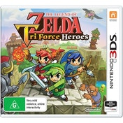 The Legend Of Zelda Triforce Heroes 3DS Game (Australian Stock)