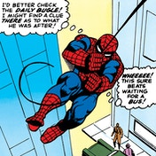 Spider-Man - Daily Bugle Canvas