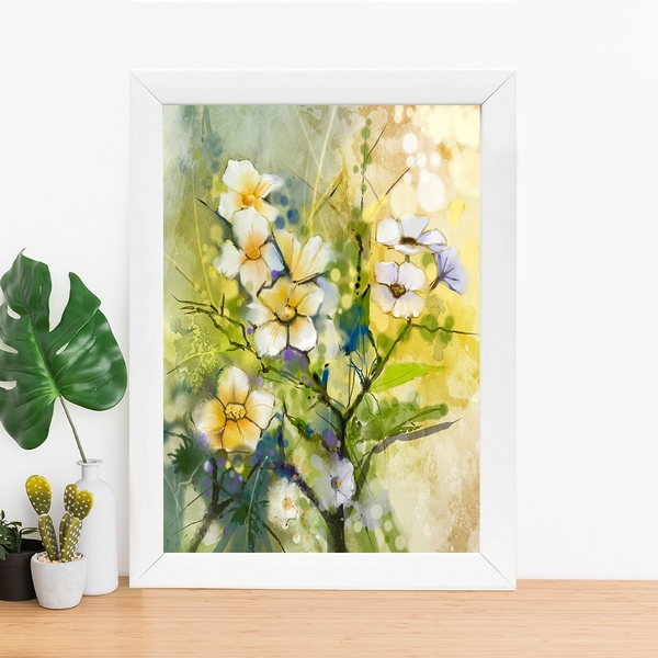 BC370603829 Multicolor Decorative Framed MDF Painting