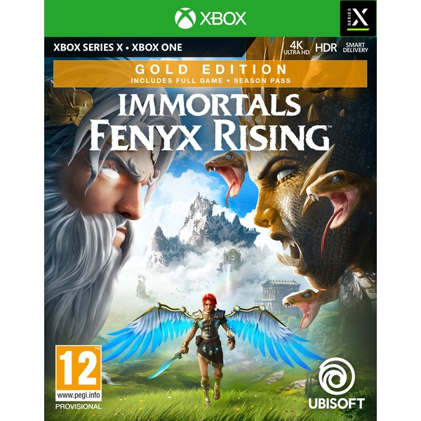 Immortals Fenyx Rising Gold Edition Xbox One   Series X Game
