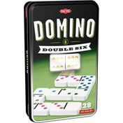 Double 6 Domino Tin Board Game