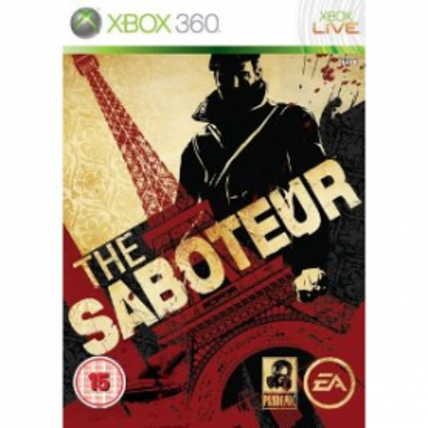 The Saboteur Game Xbox 360