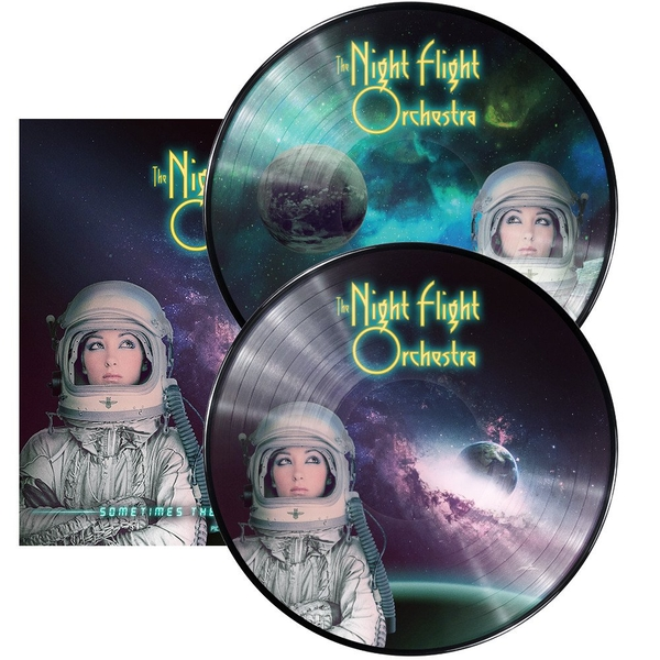 Night Flight Orchestra - Sometimes The World Aint Enough Picture Disc Vinyl
