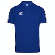 Sondico Venata Polo Shirt Adult Small Royal/Navy/White