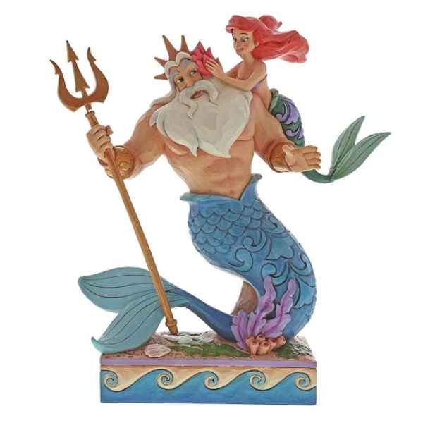 Daddy's Little Princess (Ariel & Triton) Disney Traditions Figurine