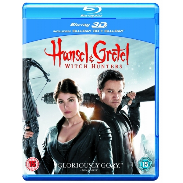 Hansel and Gretel Witch Hunters 3D Blu-ray