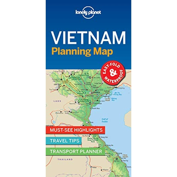 Lonely Planet Vietnam Planning Map  Sheet map, folded 2018