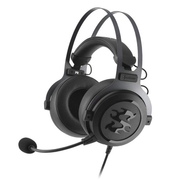 Sharkoon SGH3 Gaming Headset Black - Image 1