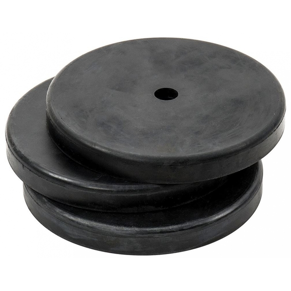 Precision Indoor Rubber Bases Set of 3