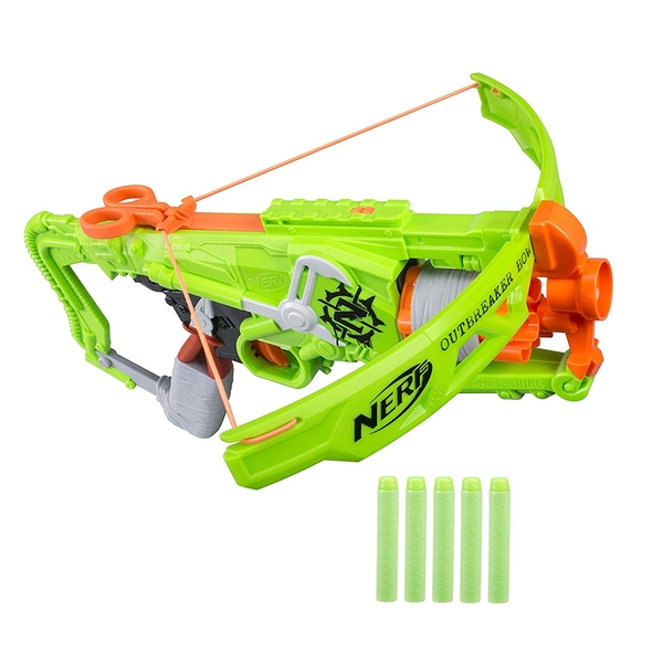 Nerf Zombie Strike Outbreaker Bow - Image 1