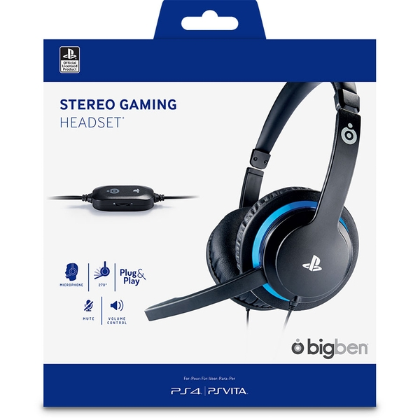 sony officially licensed gaming headset v2 for ps4. Black Bedroom Furniture Sets. Home Design Ideas