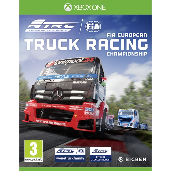 FIA European Truck Racing Championship Xbox One Game