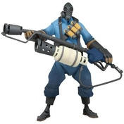 Team Fortress 2 - 7 Inch Deluxe Action Figure Series 1 - Blu Pyro