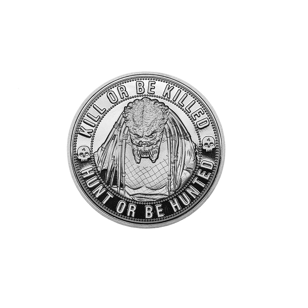 Predator Kill or Be Killed Limited Edition Collectors Coin (Silver) - Image 1