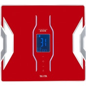 Tanita Bluetooth Connected Smart Scale with Body Composition Monitor Red